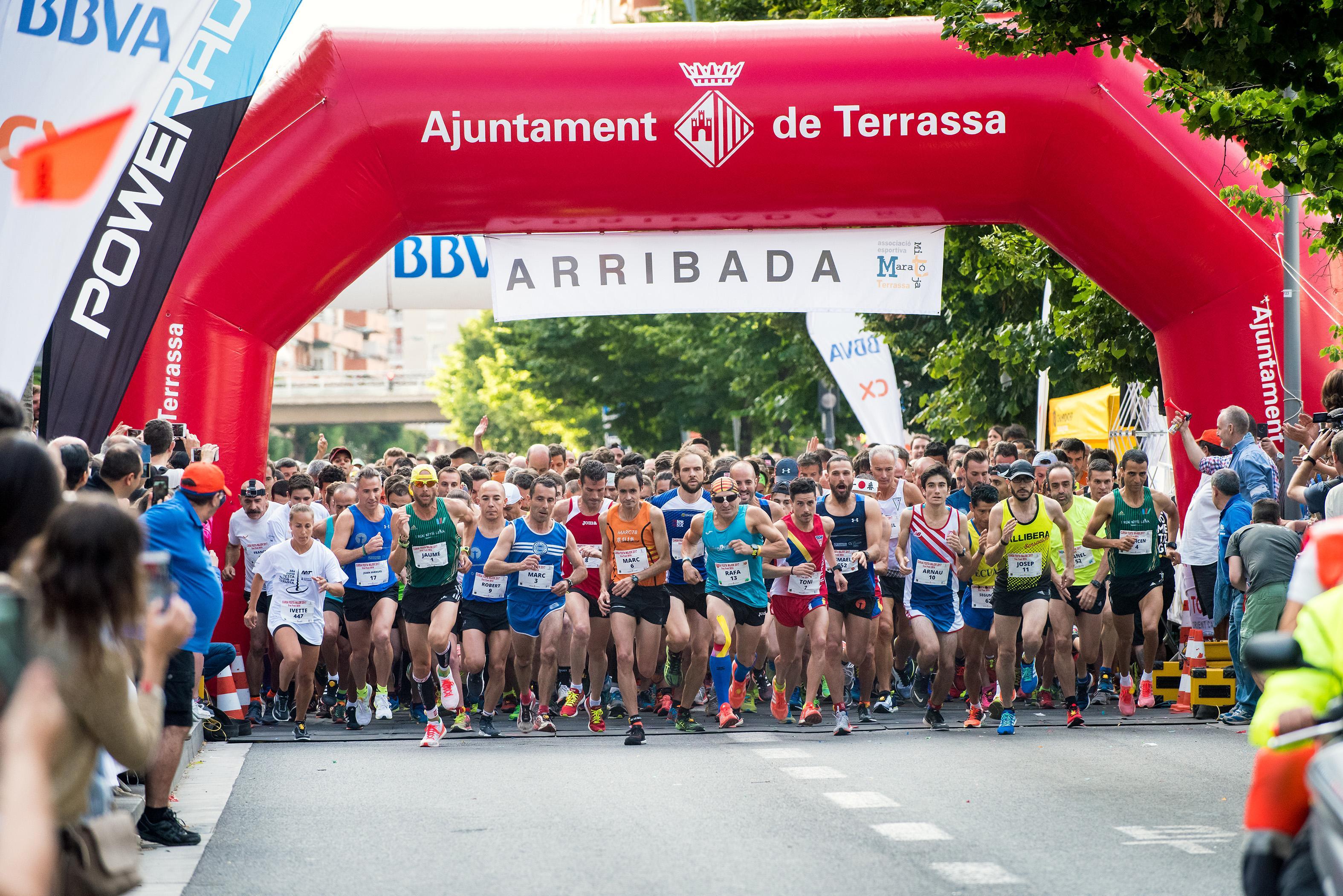 La Festa Major de Terrassa recupera un ampli ventall d'activitats esportives