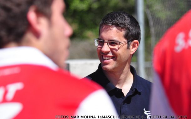 Néstor Llobet, nou entrenador del CD Terrassa masculí