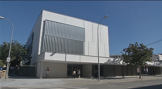 Intens inici de curs de l'Institut Can Roca en el nou edifici al carrer Fàtima