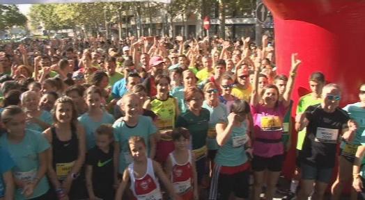 Més de 2.300 participants a la Cursa de les Dones