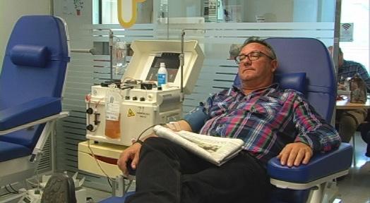 Campanya de Nadal al Banc de Sang i després vindrà una novetat: la donació de plaquetes