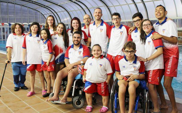 Quatre victòries per al CN Terrassa aa Lliga Catalana de Natació Adaptada