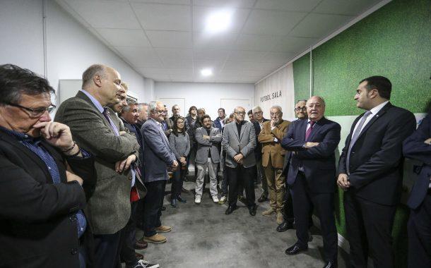 La Federació Catalana de Futbol celebra l'obertura de la nova delegació del Vallès Occidental-Terrassa