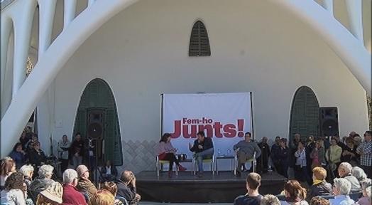 Bea Talegón i J. Alonso Cuevillas defensen una candidatura unitària independentista per les pròximes eleccions