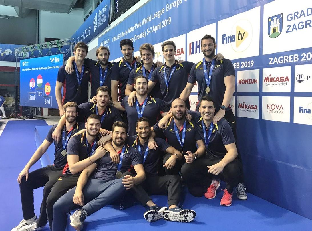 Accent egarenc en el bronze de la selecció espanyola de waterpolo a l'Europa Cup