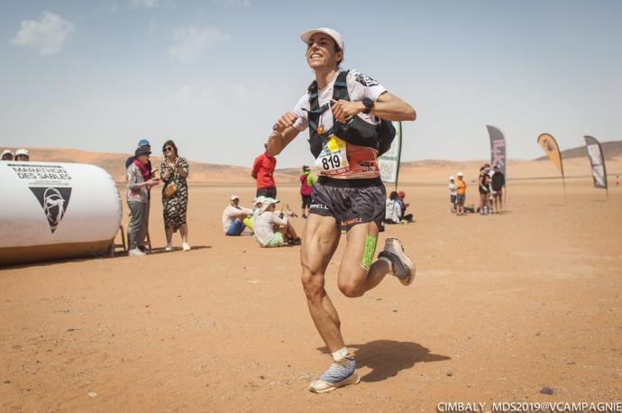 Ragna Debats guanya la Marathon des Sables disputada al desert del Sàhara
