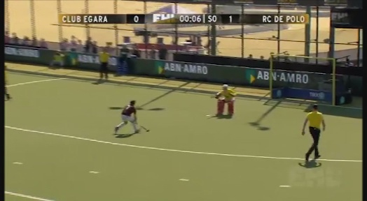 El Club Egara ensopega de nou amb el RC Polo als quarts de final de l'Euro Hockey League