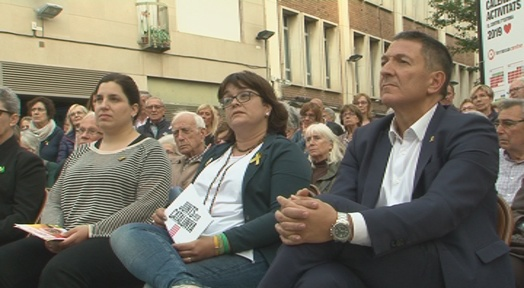 Junts per Terrassa reivindica els candidats a la presó i a l'estranger
