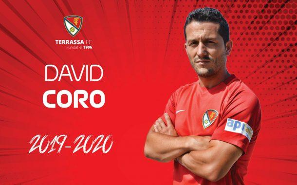 Guillem Savall, segona baixa del Terrassa FC; David Coro continua