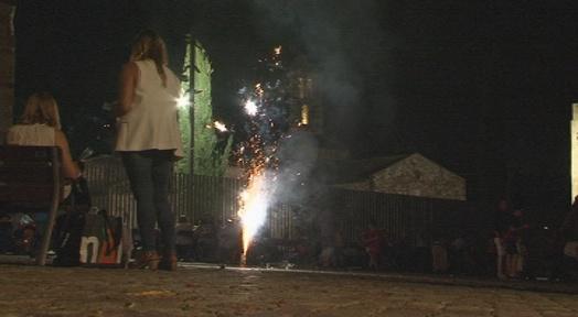 Revetlla sense incidents destacables a Terrassa