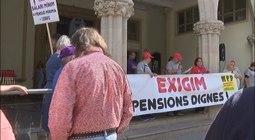 El Moviment per unes Pensions Dignes reclama una reunió amb Ballart sol·licitada el juny