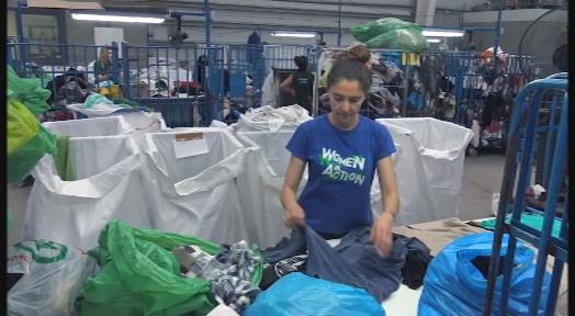 HUMANA recupera més de 428 tones de roba usada a la comarca durant els primers sis mesos del 2019