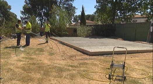 L'Ajuntament millora les instal·lacions de l'hort urbà del barri de Torre-sana