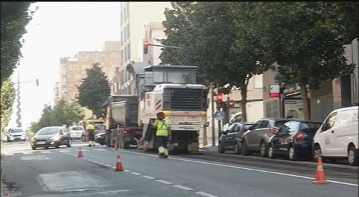 Millores en la pavimentació obliguen a fer talls progressius a la Carretera de Castellar