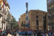 Els Castellers de Terrassa aconsegueixen una clàssica de vuit a la XXV Diada de l'Avi Emili