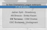 L'Oradea romanès, rival del CN Terrassa a la 3a fase de la Champions League