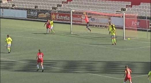 El Terrassa FC debuta a la Primera Nacional Femenina amb una derrota immerescuda