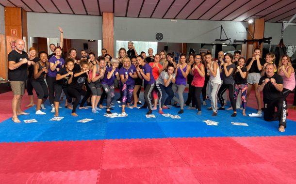 Exitosa assistència al curs de defensa personal femenina impartit al Q Sport