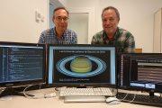 Dos investigadors de la UPC-ESAIAAT reprodueixen la formació de les tempestes polars a Saturn