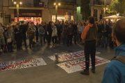 Nova mobilització per demanar l'alliberament dels independentistes empresonats
