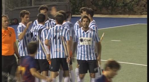 Pau Quemada, amb un hat-trick, lidera la remuntada del Club Egara davant el FC Barcelona (2-4)