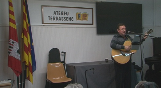Leandre Busquet recupera l'Ausiàs March de Raimon a l'Ateneu Terrassenc