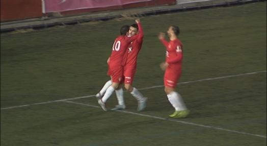 Kilian lidera la victòria del Terrassa FC en el derbi contra el CP San Cristóbal (3-0)