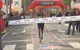 Mourad El Bannouri i Mireia Pons, guanyadors de la 21a Mitja Marató de Terrassa