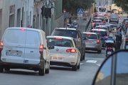 L'entrada a la Fase 1 ha comportat un augment del trànsit a la ciutat