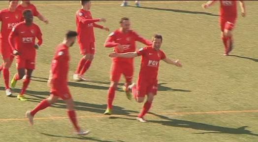 El Terrassa FC atrapa el líder després d'una nova victòria a Granollers