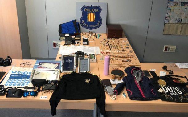 Detingut un grup criminal especialitzat en robatoris a domicilis que utilitzava marcadors