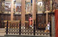 La Catedral celebra l'Ascensió amb un terç de l'aforament