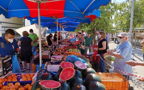 Torna el Mercadal de Martí l'Humà amb les parades d'alimentació i restauració