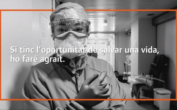 Nou vídeo d'agraïment als sanitaris de Mútua Terrassa