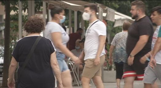 Pugen les temperatures: dies de calor i mascareta