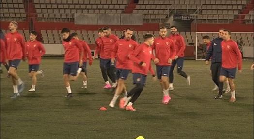 El Terrassa FC torna als entrenaments després d'aïllar-se per un positiu a la plantilla