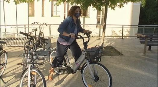 Més de 300 viatges cada dia i 40.000 quilòmetres fets amb bici o patinet