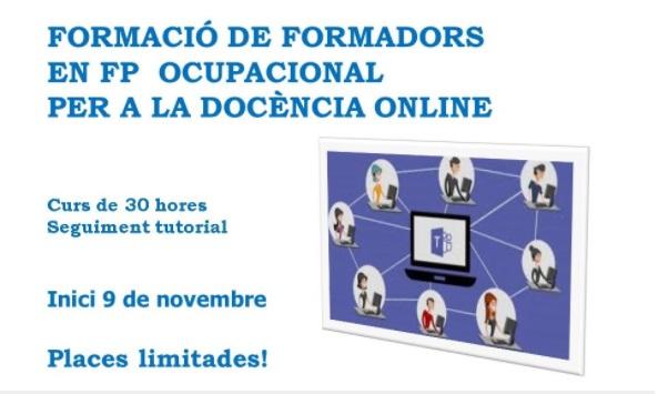 Nova formació en docència online per a equips docents d'FP