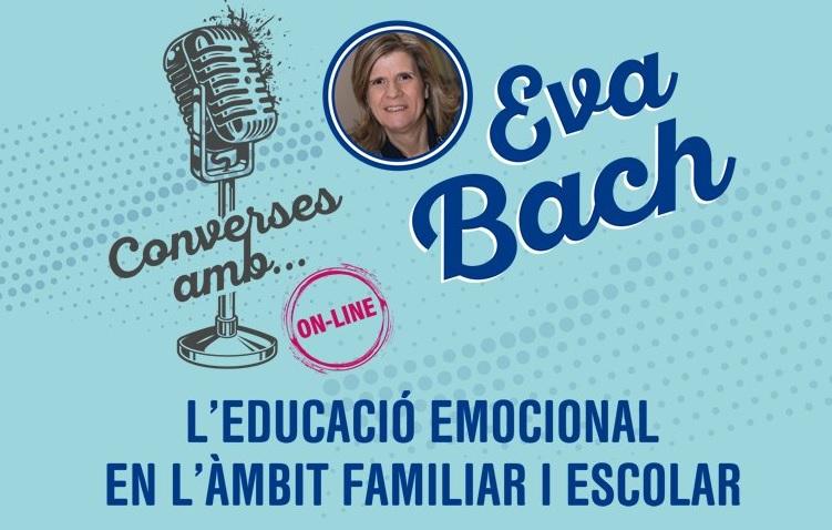 Eva Bach imparteix una conferència en línia sobre educació emocional
