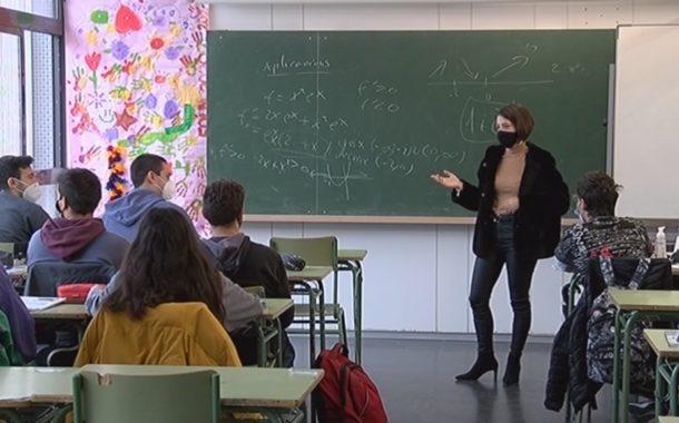 Els cursos de Batxillerat i els Cicles Formatius s'adapten al nou model de classes semipresencials