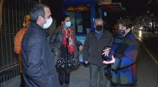 La Maurina demana ajut a la Síndica per millorar la seguretat, el civisme i la convivència al barri