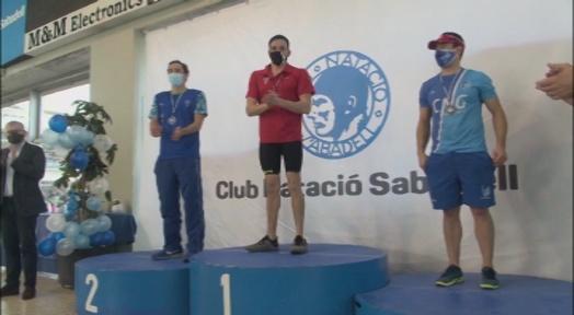 Onze medalles del CN Terrassa al Grand Prix Internacional Trofeu CN Sabadell de natació