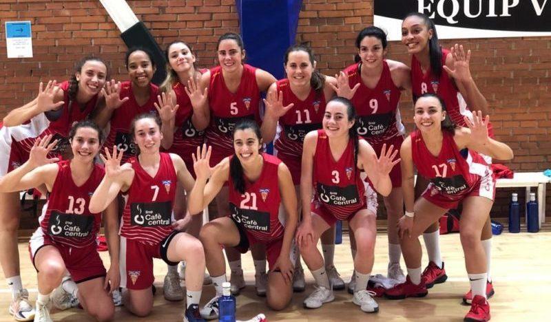 El CN Terrassa femení de bàsquet, a un pas de la Final a Vuit del Campionat d'Espanya de 1a Divisió