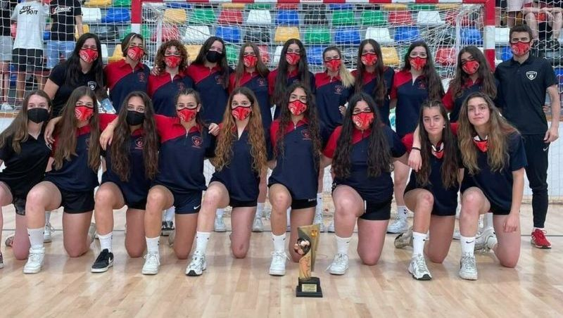 El cadet femení de l'Handbol Terrassa, quart al Campionat d'Espanya