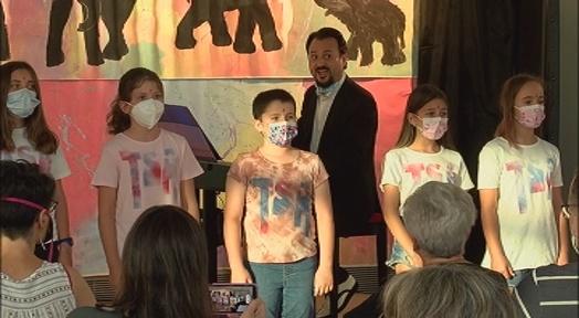 Un espectacle basat en el color ha tancat la 6a edició del Terrassa Street Art