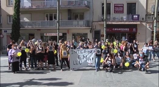 Els treballadors interins volen acabar amb l'abús de poder de l'administració pública