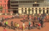 Pedalada popular a Terrassa per una mobilitat neta i sostenible