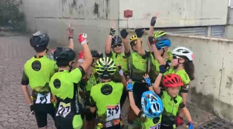 Cinc podis de l'Escola de Ciclisme Vallès a la cursa Tondo Kids