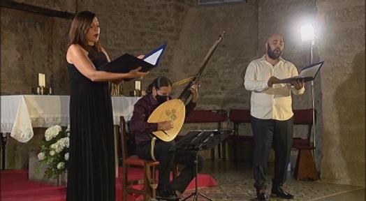 Sonia Gancedo, Víctor Sordo, tenor, i Manuel Minguillón porten 'Lachrimae' a La Seu d'Ègara