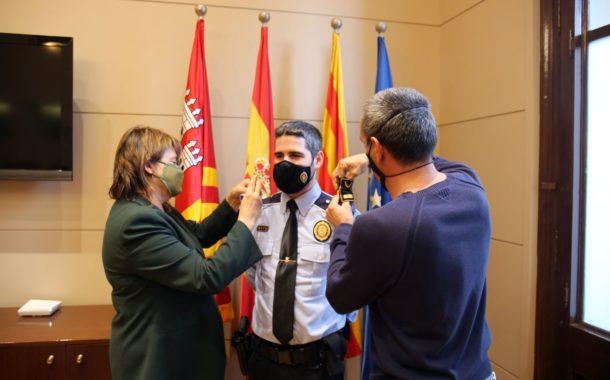 Marc Pintor és el primer inspector de la Policia Municipal de Terrassa